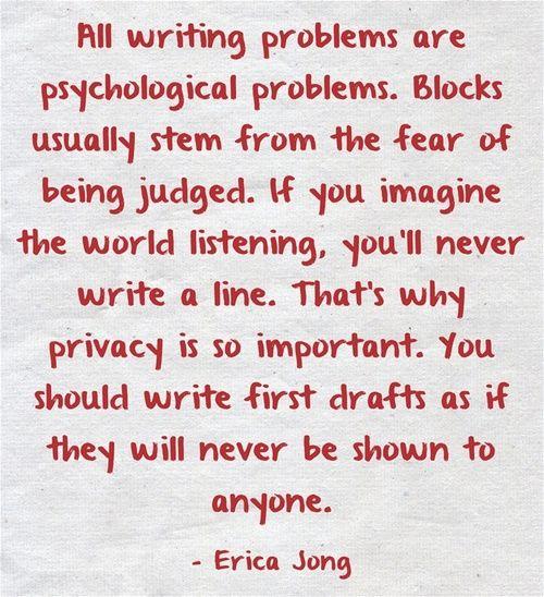 write as if nobody's reading