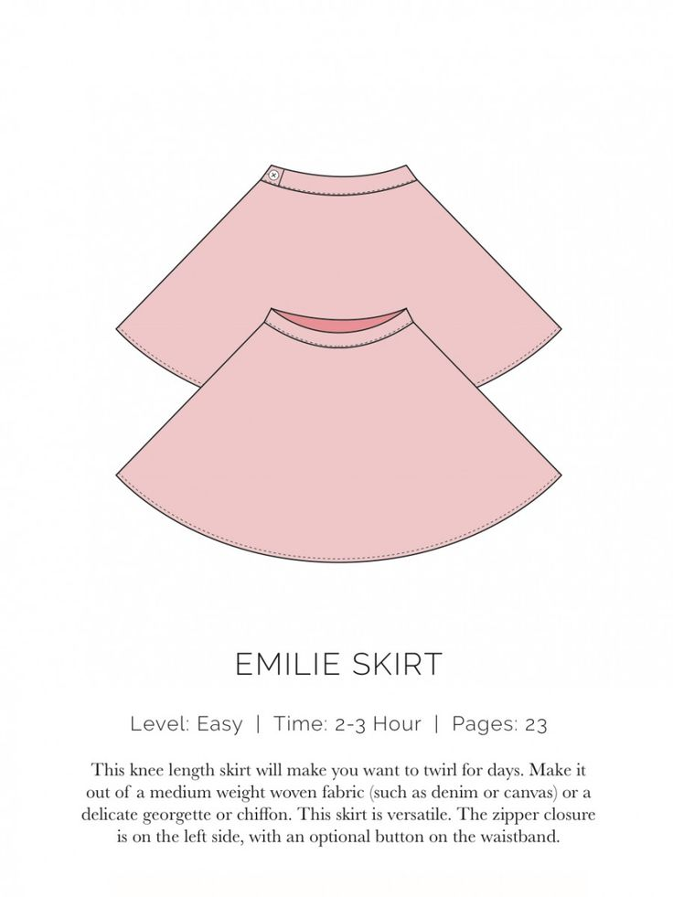 spit up and  / Emilie Skirt Flat