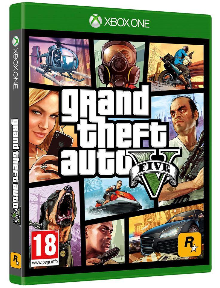 GTA V: Xbox One: Amazon.fr