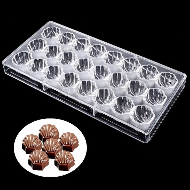 Clear 3D Polycarbonate Chocolate Mold Candy Jelly Hard Mould Tray Pastry Tools   eBay