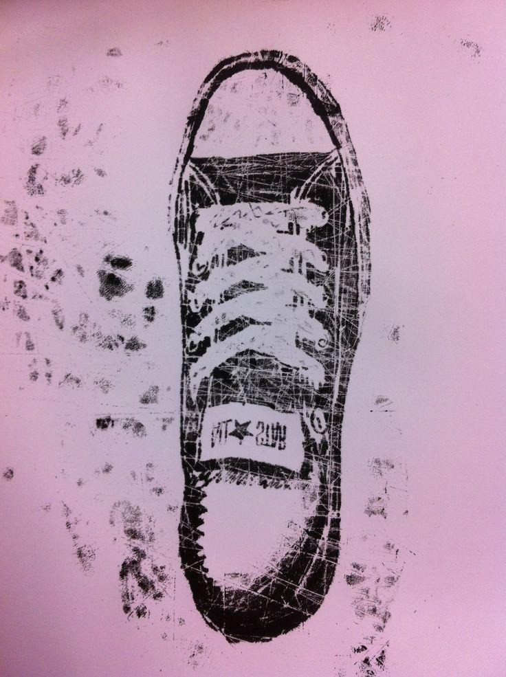 Project Converse - Allstars met drukinkt