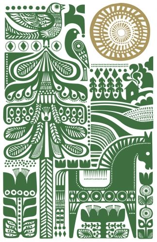 Sanna Annukka, Call of the Cuckoo print // Animalarium: Northern Soul