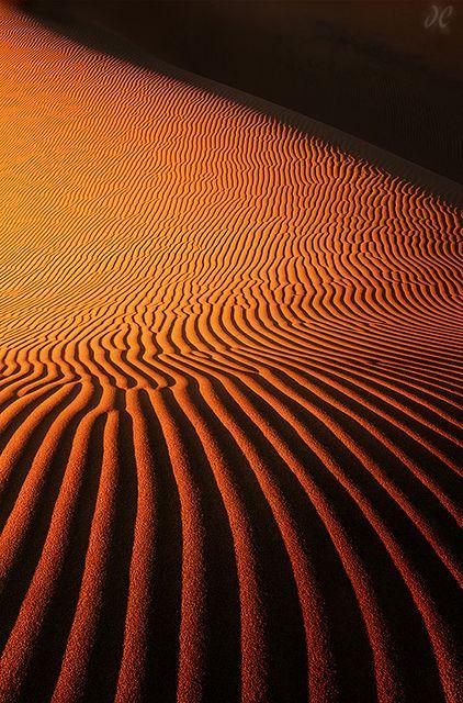Zen Garden, Death Valley National Park, California