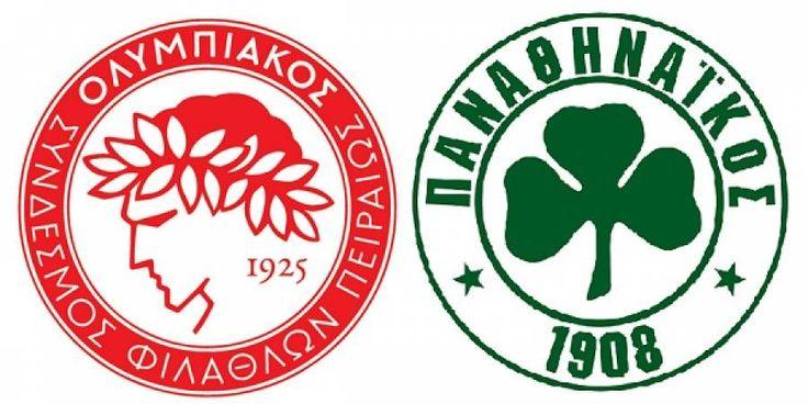 24/01/2017. Ολυμπιακός - Παναθηναϊκός 3-1