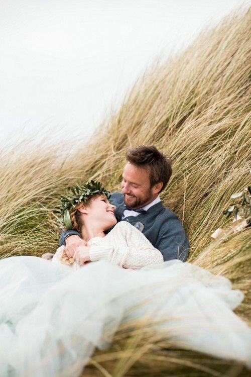 beach wedding in ireland