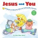Explaining the characteristics of good behavior to toddlers can be a challenge, but JESUS AND YOU uses cute characters to make the lessons simple.  Parents can help toddlers build godly character by introducing them to kind Kitty, friendly Puppy, thankful Squirrel & obedient Bear. Mary Simon @ R100-00 in Afrikaans & English.