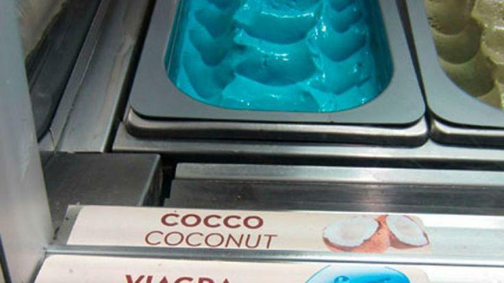 Crean un helado sabor a Viagra