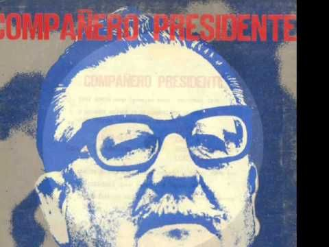 Ángel Parra  . Canción a Salvador Allende