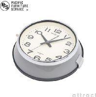 PACIFIC FURNITURE SERVICE パシフィックファニチャーサービス セイコークロック セイコー 都バス 時計 防塵時計 OC143 Φ22cm スイープセコンド 防塵防湿 カラー:グレー(秒針グレー) (壁掛け時計 掛時計 ウォールクロック)