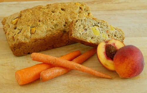 Spiced Peach and Carrot BreadCarrots Breads, Breads Ginamarieskitchen Com, Spices Peaches, Favorite Recipe