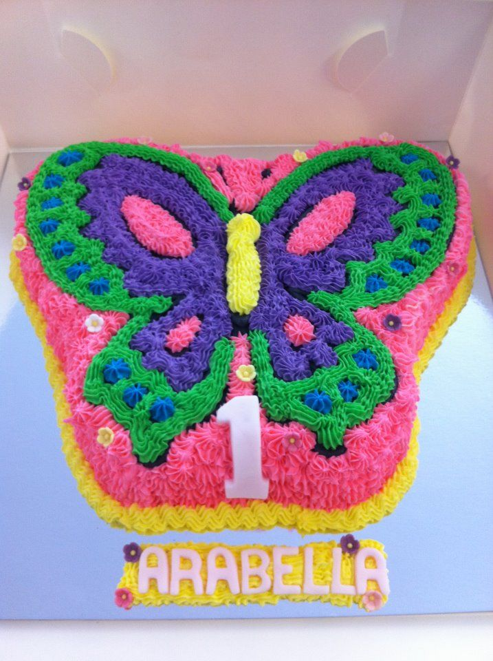 butterfly birthday cake template printable - best 25 kids butterfly cake ideas on pinterest