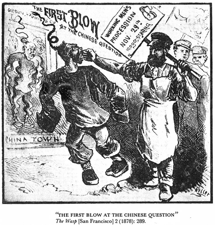 """race - Chinese labor How are you all this morning? Enjoying yourselves? Well, that's nice and all, but let's change the mood by delving into the legacy of American racism. Here is the 1908 pamphlet by American Federation of Labor president Samuel Gompers and Herman Gutstadt, """"Meat vs. Rice: American Manhood against Asiatic Coolieism, Which Will Survive."""" And really, …"""