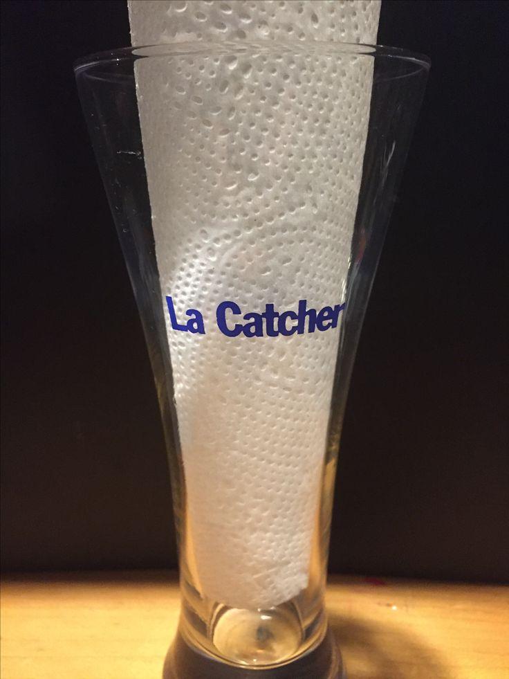 Labatt Dry  Glass back