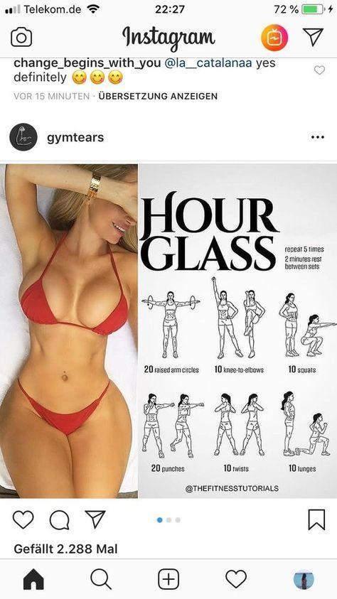 #womenworkout Dieses fantastische Workout kombiniert Arme, Rücken und Brustübun