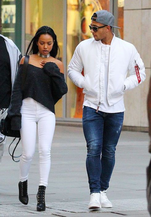 Karrueche Tran and her RUMORed boyfriend, Memphis Depay...