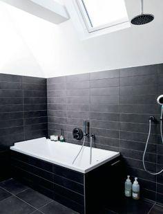 mørkegrå fliser til badeværelse - Google-søgning