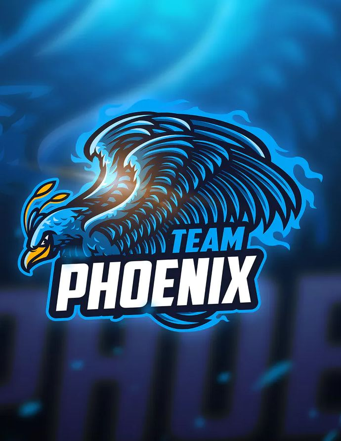 Phoenix - Mascot & Esport Logo Template AI, EPS  Download