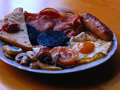 Traditional Scottish Breakfast