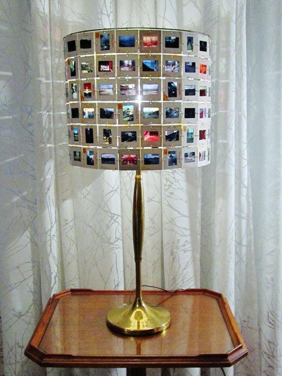 Photo slide lamp shade slides of asia