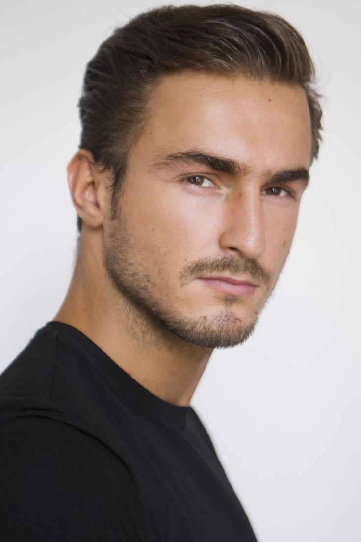 Bosnian Model Tarik Kaljanac at Soul Artist Management - Fall Winter 2015-2016 Polaroids