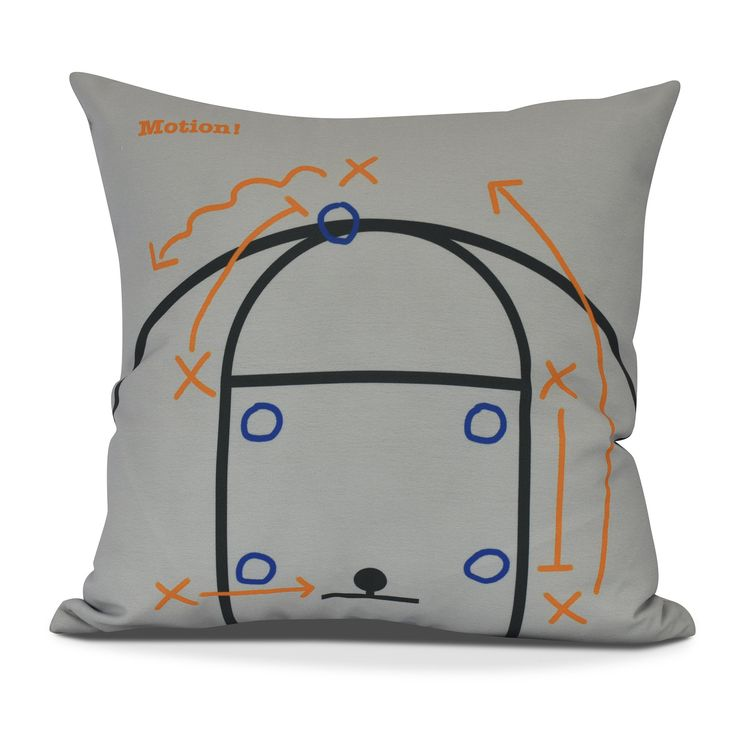 Bauer Motion! Geometric Throw Pillow