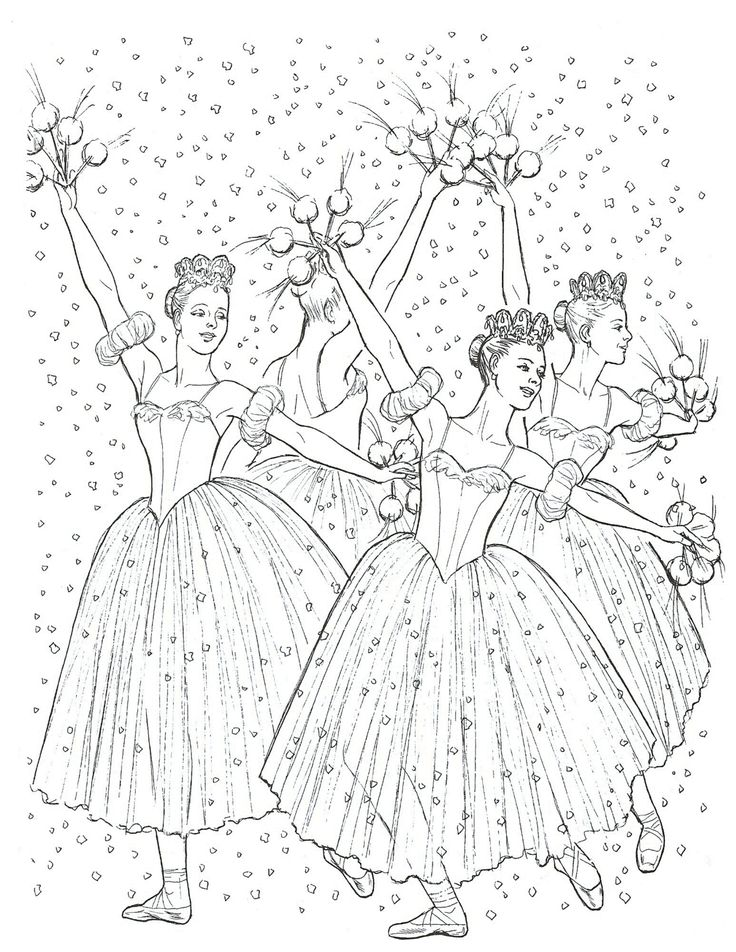 Nutcracker Coloring Page Christmas Templates And Printables Pinte