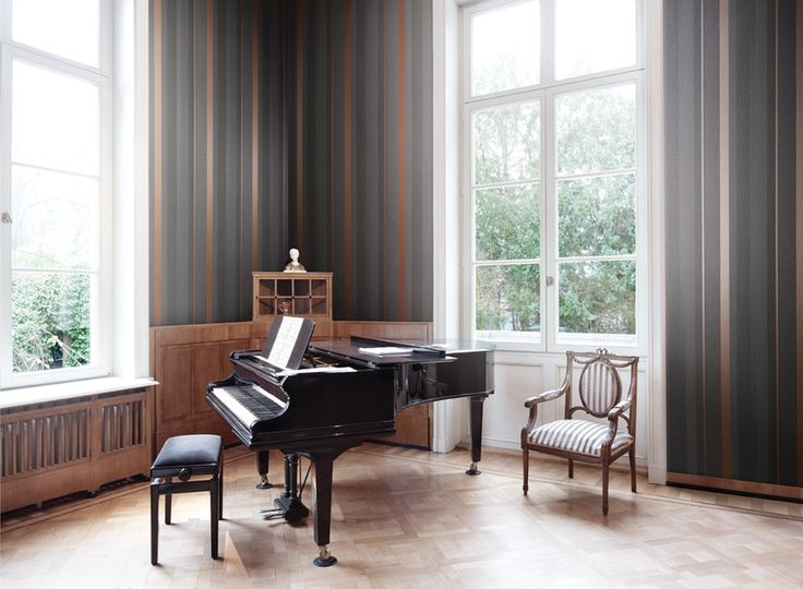 Piano Collection - Fabric Wallpaper Australia / The Ivory Tower