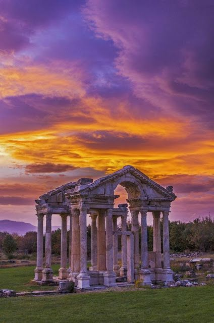 Temple of Aphrodite Urania ~ is a temple located northwest of ancient Agora of Athens.and dedicated to Greek Goddess Aphrodite.