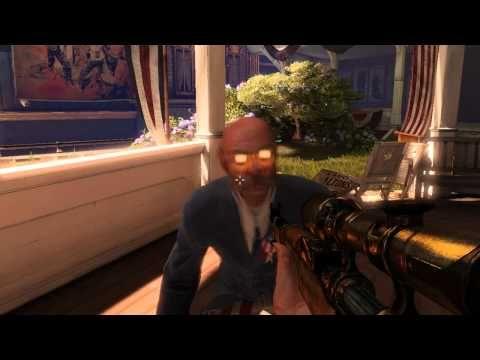 Ten minutes of Bioshock Infinite, PC Gamer.