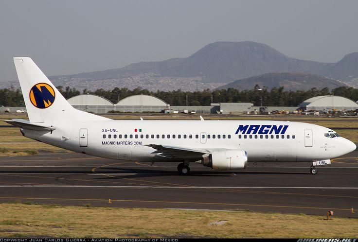 Magnicharters (May 10, 2013) Boeing 737-322 / XA-UNL