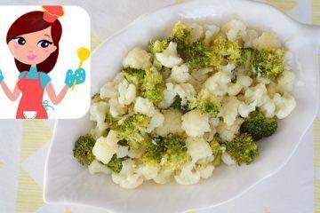Ekşili Karnabahar ve Brokoli Salatası (Videolu Tarif)