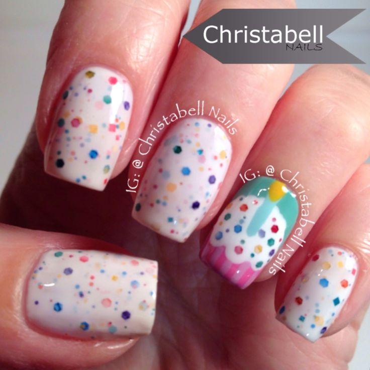 Cupcake Nails: 1000+ Ideas About Cupcake Nail Art On Pinterest