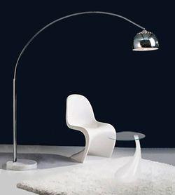 Lampadaire Arc - LAMPADAIRE ARC DESIGN XL CHROME - Lampadaire arc pas cher l acces-design.com