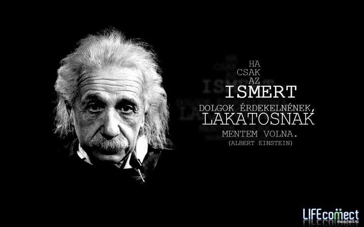 Albert Einstein #idézet | A kép forrása: LIFEconnect