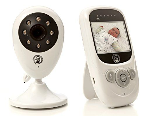 Video baby monitor - Wireless surveillance camera with night vision for remote monitoring of your infant. - $89.95
