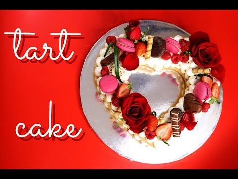 How to : Trend Cake 2018 Tart Cake / Tarta de Israel / Biscuit Cake | Valentines Day Edition - YouTube