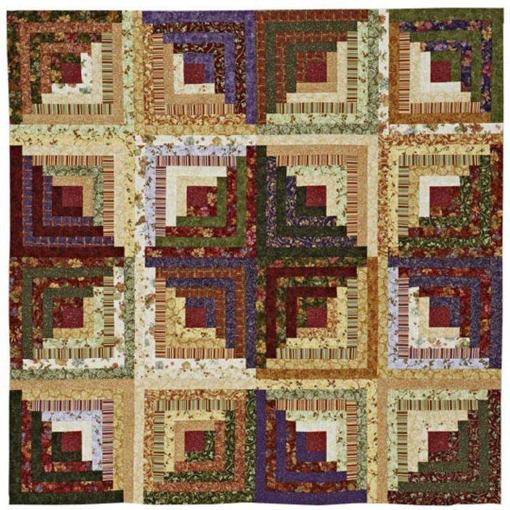 Log Cabin Patterns : Best images about log cabin quilts on pinterest quilt