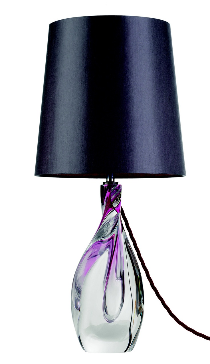 Designer Purple Twist Art Glass Lamp Sharing Luxury Designer Home Decor Inspirations And Ideas For