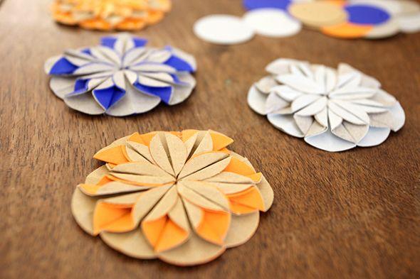 flores flowers blumen origami facil einfach easy