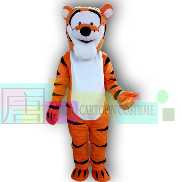 ==> [Free Shipping] Buy Best New Arrival Party Dress Tigger Mascot Costume Cartoon Character Costume Free Shipping Online with LOWEST Price | 1025614534
