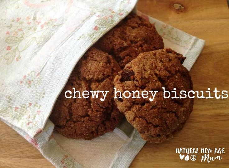Chewy Honey Biscuits. These bickies are gluten free, grain free, dairy free, vegetarian and paleo and are really easy to make!