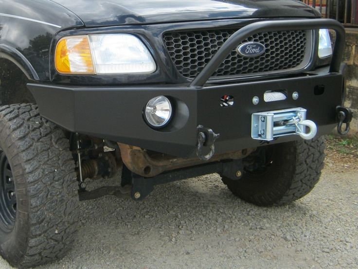 Front Winch Bumper Ford F 150 Expedition 97 03 F150 97 02 Expedition Bluelakeoffroad Jeep Bumpers Winch Bumpers Truck Accessories Ford