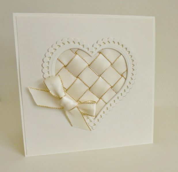 Ribbon Heart by sistersandie - Cards and Paper Crafts at Splitcoaststampers