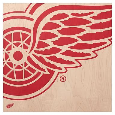 nhl wall art detroit red wings in 2020 red wing logo on wall street bets logo id=16175