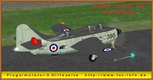 Fairey Gannet AS 6als Freeware für den Flugsimulator Xvon Robert Richardson