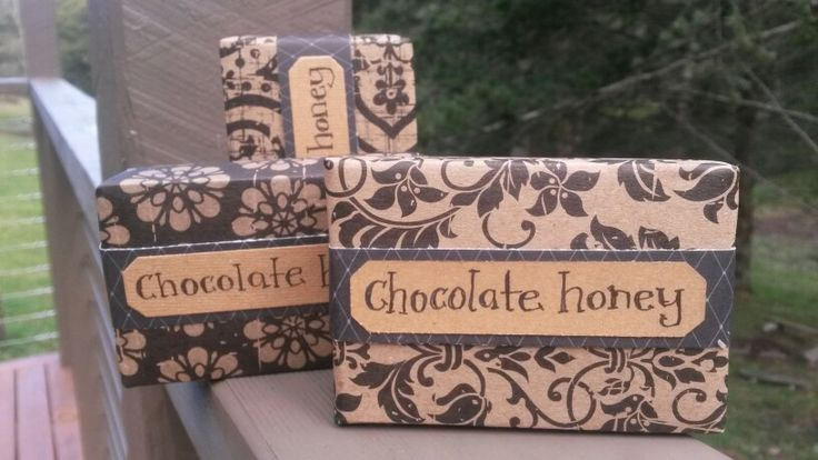 Soap packaging. Rustic, bohemian soap packaging