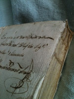"""""""I bring you with reverent hands / The books of my numberless dreams."""" ― W.B. Yeats  [Credit - French Antique 1786 Book]"""