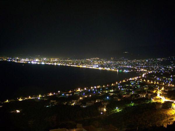 Kalamata by night