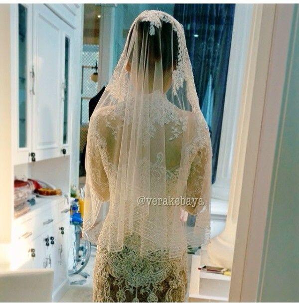 Kebaya akad, wedding dress by vera kebaya