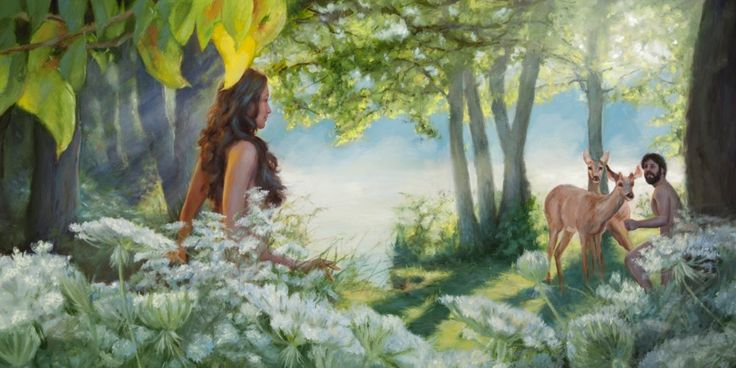 7 best images about adam and eve on pinterest gardens for Adan y eva en el jardin del eden